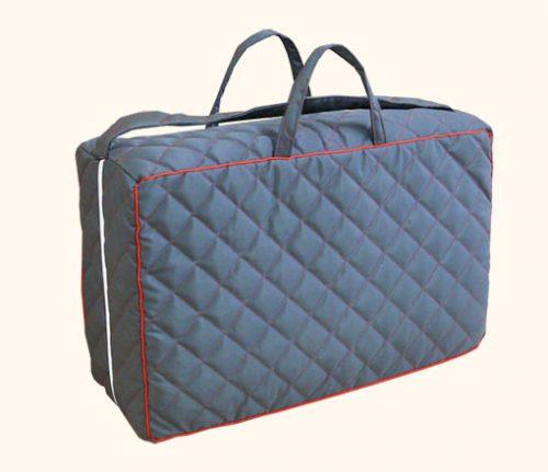 Refluxkissen Reisetasche Grau